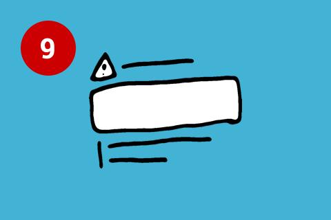 Illustration Fehlermeldung Usability Prinzipien
