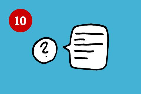 Illustration Hilfe und Dokumentation Usability Prinzipien