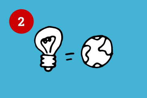 Illustration System und reale Welt Usability Prinzipien