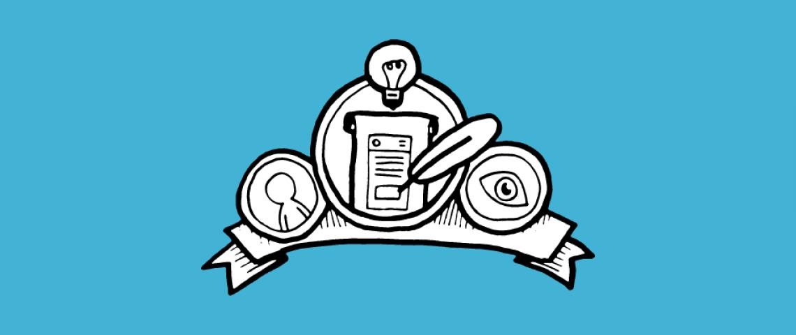 Illustration 8 goldene Regeln Interface Design